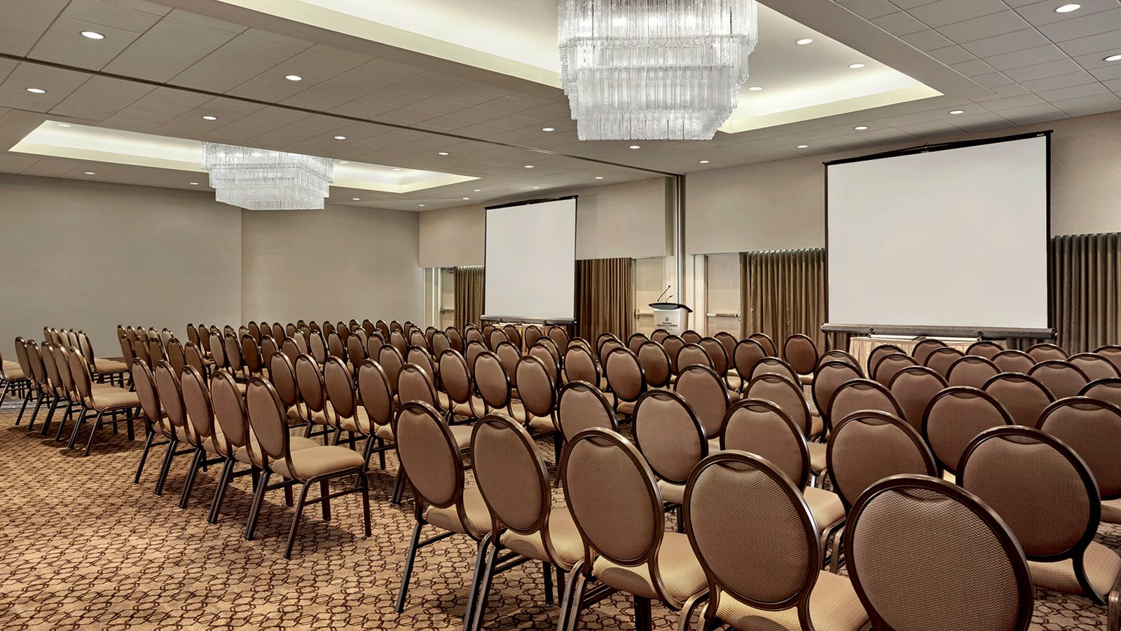 The Tynehead Ballroom at our Surrey, BC event space is a great option for conference