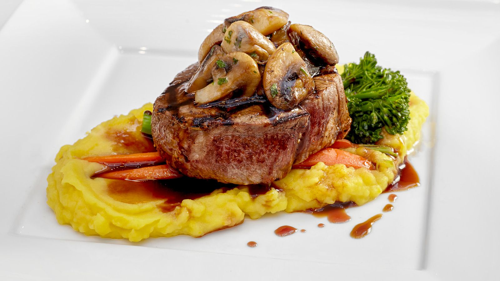 Expertly cooked Tenderloin - an example of the high quality fare offered at our Surrey, BC event venue.